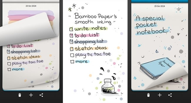 Wacom launches Bamboo Paper app for Samsung devices