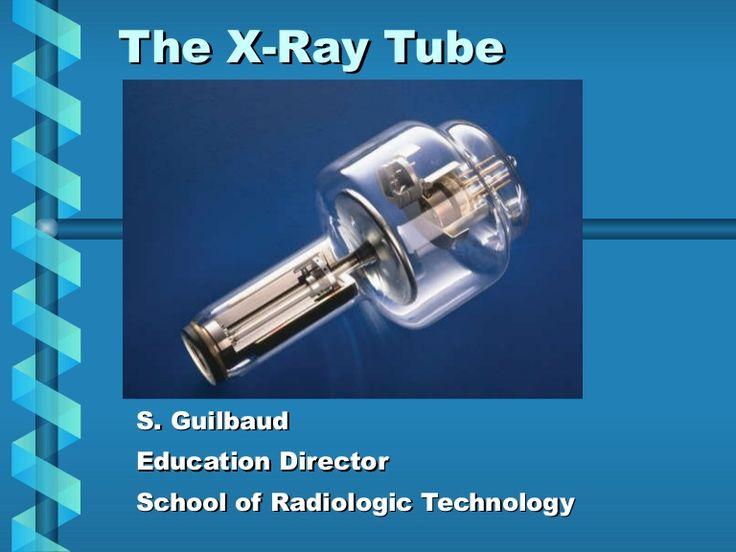 X ray tube