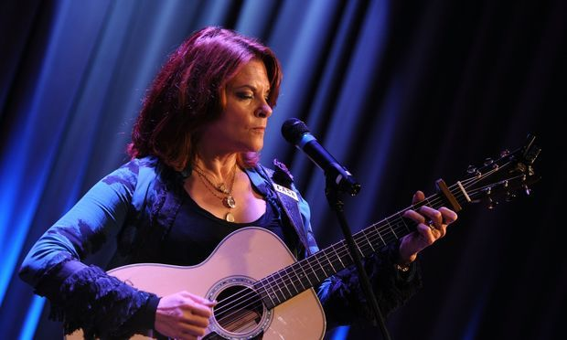 Singer/Songwriter Rosanne Cash performs at 'An Evening with Rosanne Cash' presented by the GRAMMY Museum and American Express held at the GRAMMY Museum on October 5, 2010.