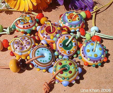 original linakhan mandala lisamae ooooh this gave me an idea use alcohol paint on lamp work glass disk beads