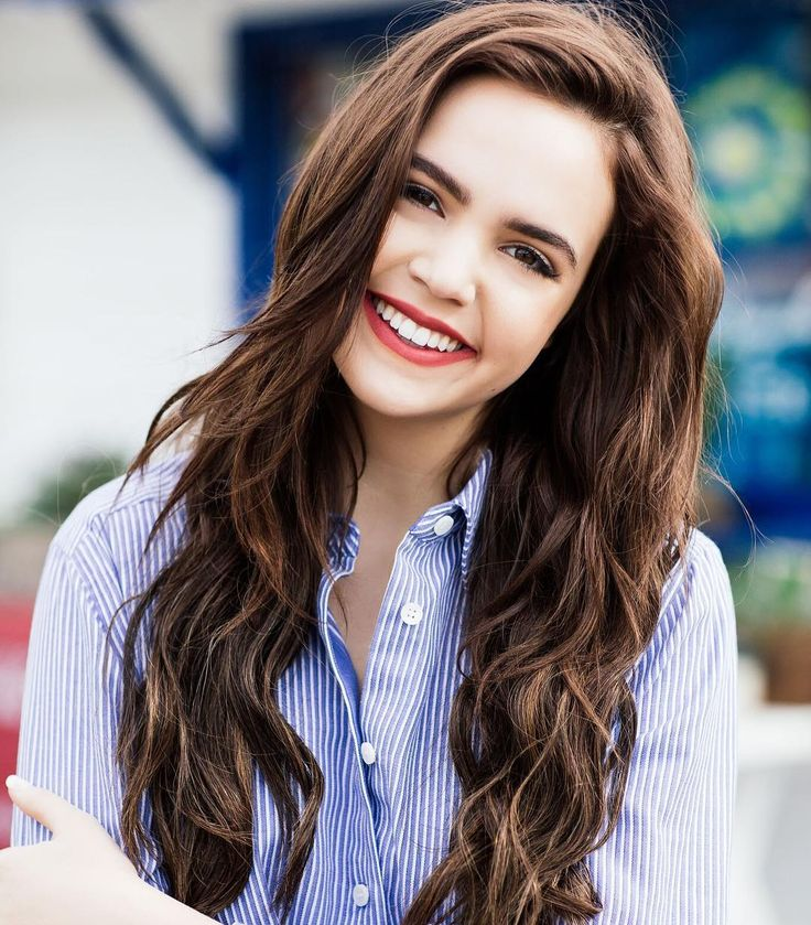 Bailee Madison (@baileemadison)  help but smile ❤️ Tag someone who makes you smile with ALL your teeth below! ;)""