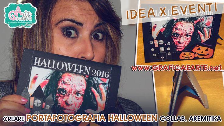 Ciao a tutti, dalla serie Idee x Eventi - Creare un Portafotografia per la vostra maschera di Halloween. ★Scopri il Tutorial ➜ https://youtu.be/niHA8pO5RNA