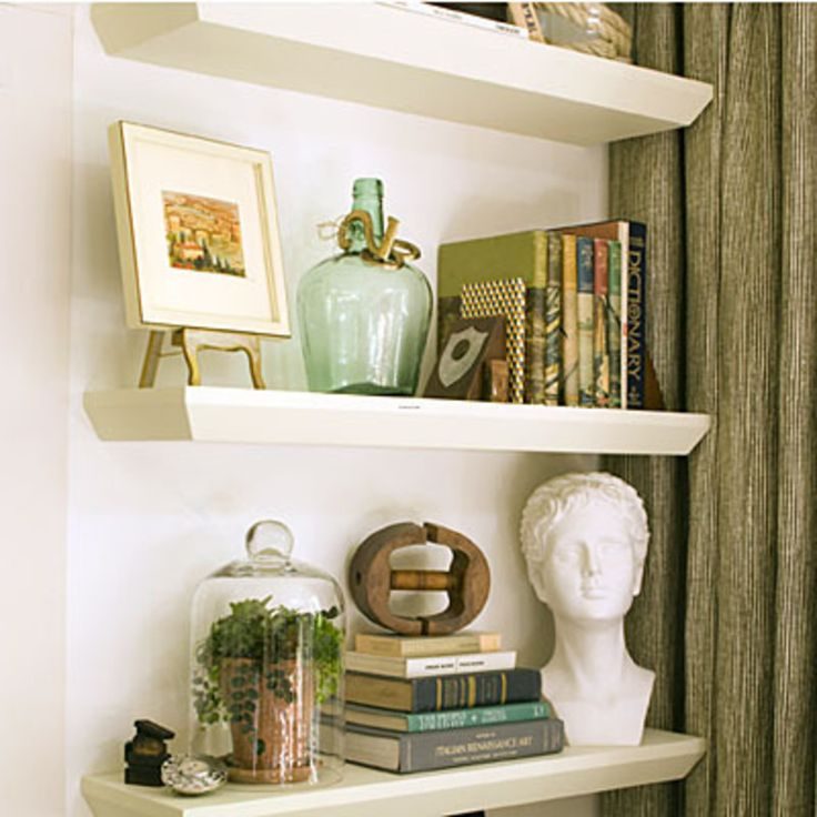 Shelf Decorating Ideas 174 best bookshelves inspiration images on pinterest | home, book