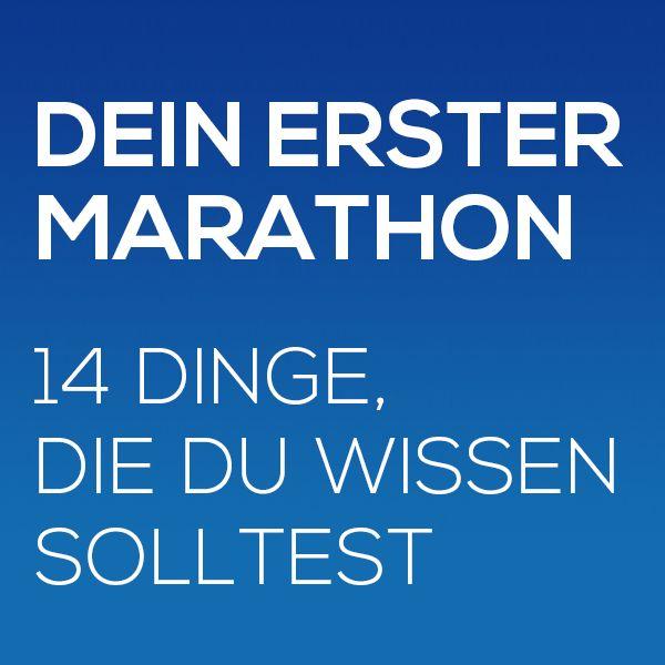 Der erste Marathon ist immer etwas Besonderes. Man steht vor der unglaublichen Herausforderung, die 42,195 km zu bewältigen. Dazu gehört eine gute Vorbereitung – also das richtige Marathon-Training, sowie Alternativtraining, die richtige Ernährung und die richtige Laufmotivation.  #marathonlaufen #joggen #laufen