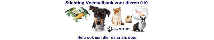 Stichting Voedselbank voor dieren 010 | Help ook een dier de crisis door