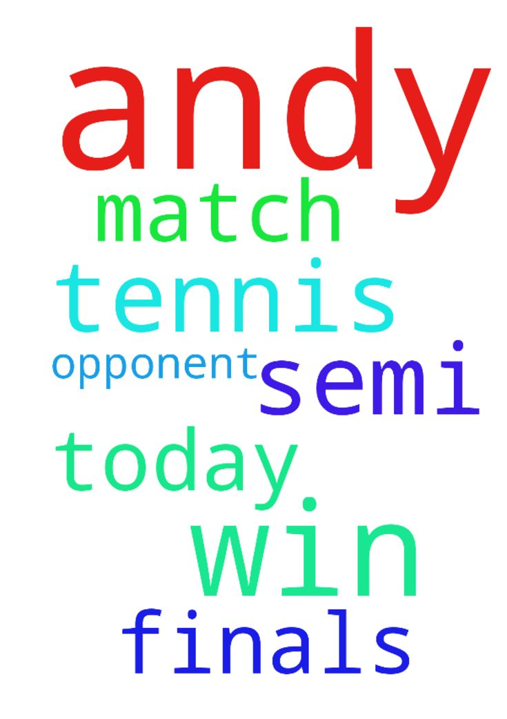 Please pray for Andy M, please. Pray Andy will win - Please pray for Andy M, please. Pray Andy will win his tennis match today against his opponent, please pray Andy will get through to the semi finals, in the name of Jesus, Amen Posted at: https://prayerrequest.com/t/HYs #pray #prayer #request #prayerrequest