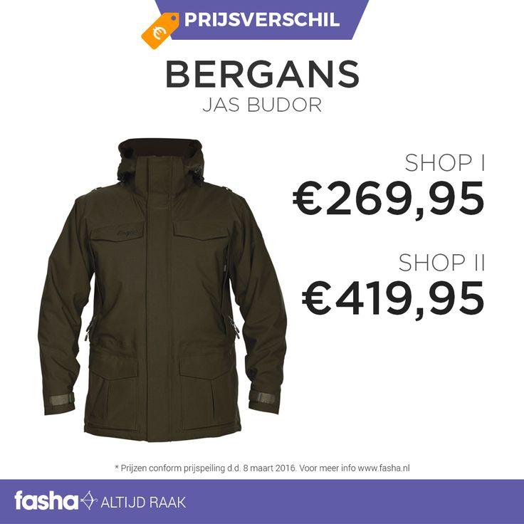 Dagelijks vindt Fasha grote prijsverschillen tussen webshops die hetzelfde artikel of dezelfde artikelen aanbieden voor verschillende prijzen. De prijsvergelijker van Fasha ontdekt deze verschillen en geeft de verschillende prijzen uit de aangesloten webshops weer bij hetzelfde artikel. Je hoeft dus niet langer meer zelf alle webshops te vergelijken, dit doet Fasha al voor jou! Shop deze jas nu voor de beste prijs via http://www.fasha.nl/producten/bergans/budor-outdoor-jacket/20886744