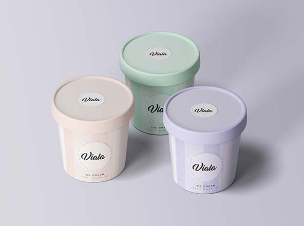 whey protein jar mockup in 2020 ice cream cup ice cream cups packaging ice cream packaging pinterest