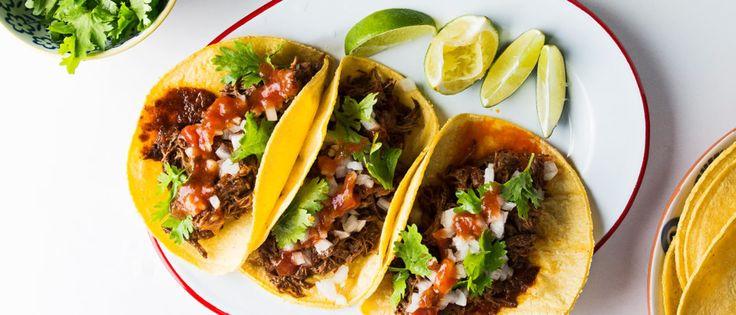 Guajillo-Braised Beef Short Rib Taco