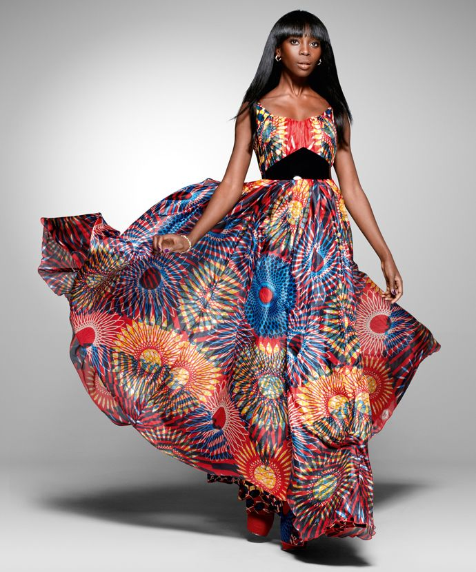 From the archive: a party look from Vlisco's 2011 'Nouvelle Histoire' collection |