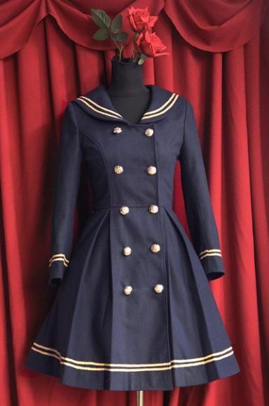 love this sailor coat!