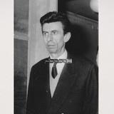 Fernand Pouillon (1912-1986) French architect, portrait 1963 http://modernariato.fr/products/photographie-fernand-pouillon-proces