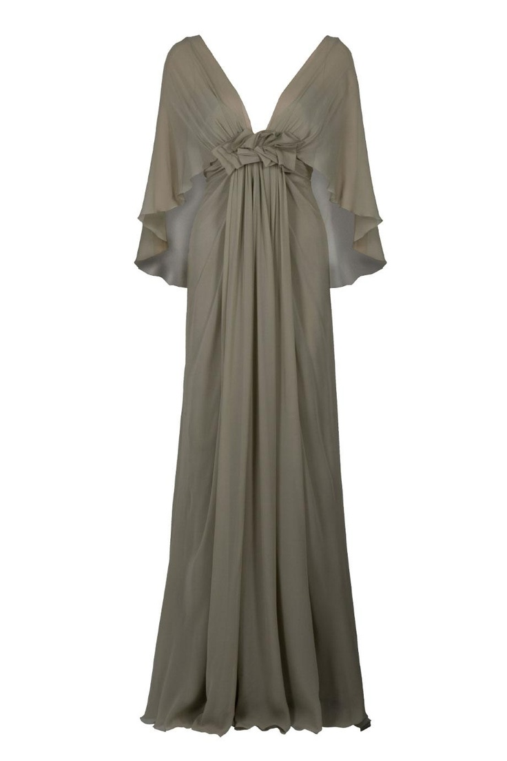 Elie Saab : empire waist dress. Guess I'd need a modesty panel for this one :)