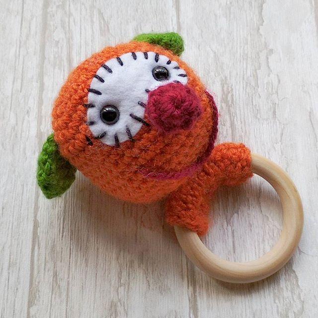 Sonajero Mic www.instagram/Crocheteando_angie