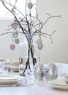 Wielkanocna dekoracja na stół