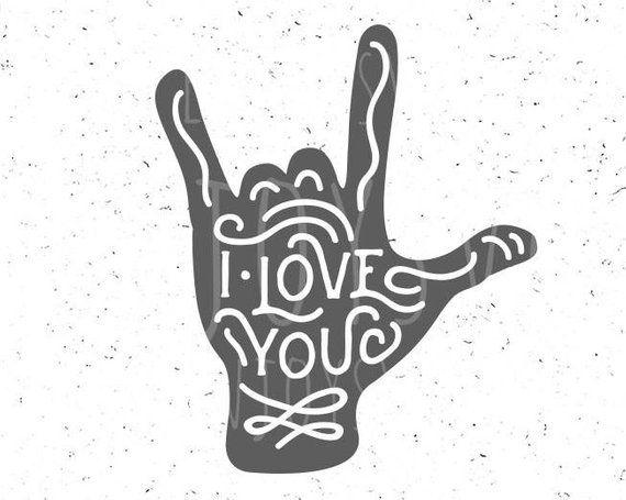 I Love You Svg Boy Valentine Svg Love Hand Sign Svg Love Hand Etsy Valentines Svg Valentines For Boys Svg