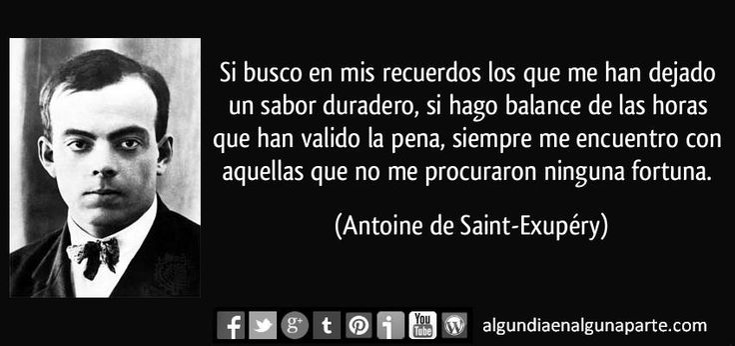 "El 31 de julio de 1944, #TalDíaComoHoy, falleció Antoine de Saint-Exupéry, autor de la famosa obra ""El principito""."