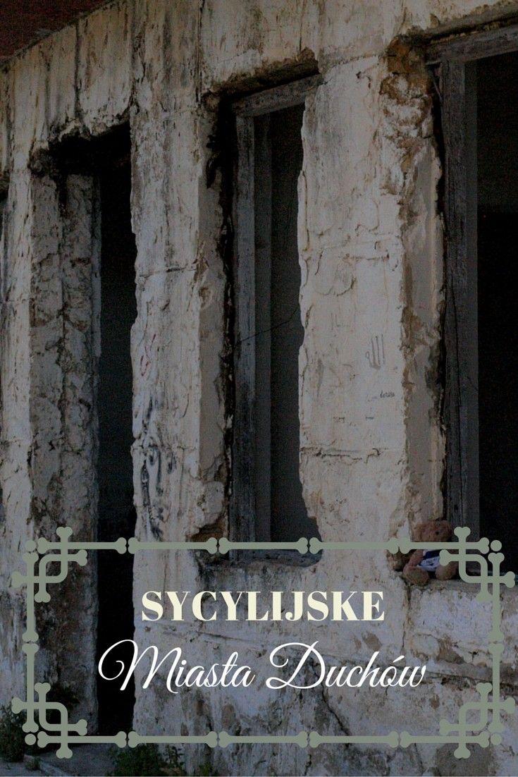 Sycylijskie miasta duchów | Zależna w podróży | Sycylia  Styczeń. Miasteczka Gibellina, Poggioreale i Salaparuta, a także kilka innych okolicznych miejscowości w Dolonie Belice wiodą spokojne życie. Mieszkańcy cieszą się, że nie mieszkają na wybrzeżu wyspy, gdzie o tej porze szaleją wiatry. Prowadzą spokojne życie zajmując się swoją hodowlą bydła...