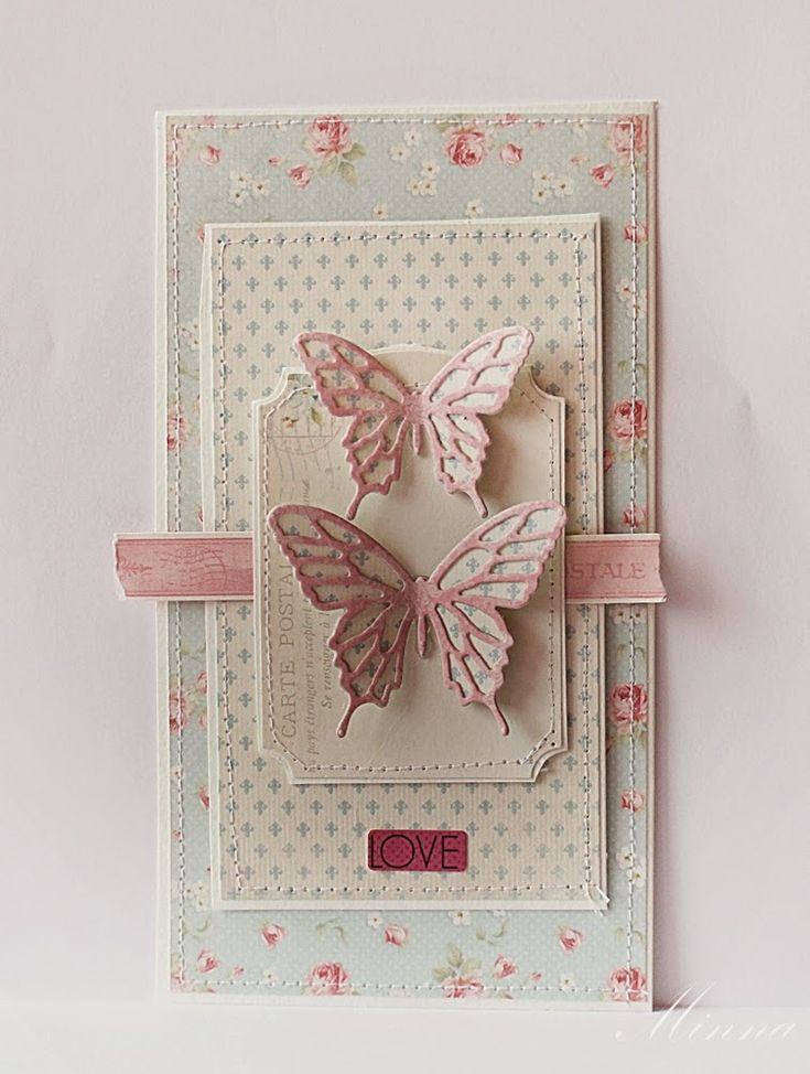 Sizzix Card Making Ideas Part - 17: Minna Paajanen From Sizzix UK: Butterfly Card · Birthday CardsCard Ideas ...