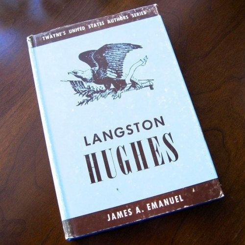 Langston Hughes Biography 1967 James A by ProsperosBookshelf, $12.00