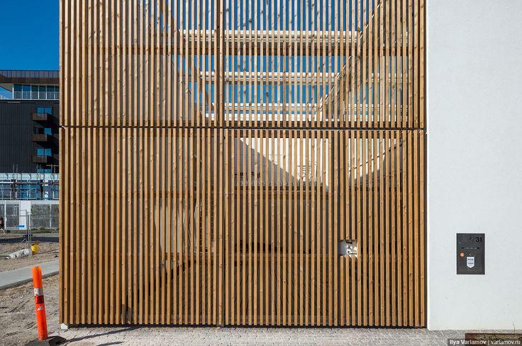 Wooden fence. Copenhagen. Photo by Ilya Varlamov. http://varlamov.ru