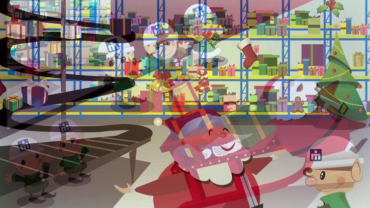 Animación de navidad realizada para la empresa Mindugar ( #Portafolio visages).