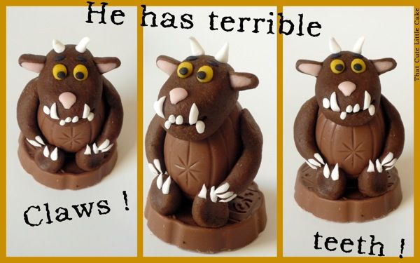 That Cute Little Cake: {Party favors} Gruffalo decorated cream eggs !