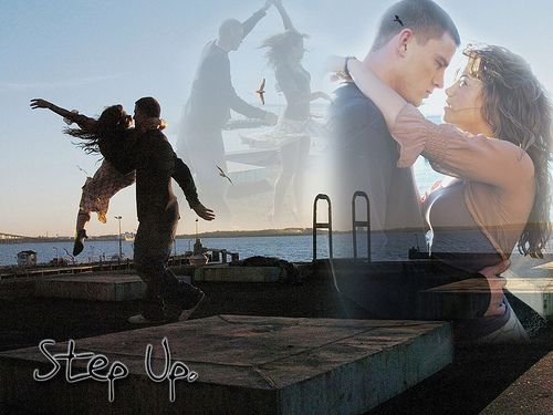 Step Up - I do like this scene. And it's a real life love story!