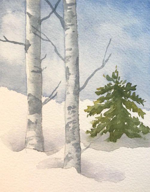 Wie man Weiß in Aquarell malt