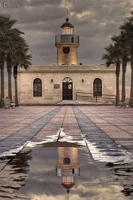 faro de Roquetas de Mar (Almería)Spain, by dleiva, via Flickr