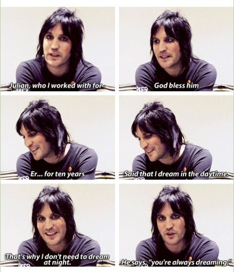 Noel Fielding talking about Julian Barratt <--- aww!!! Boost forever!