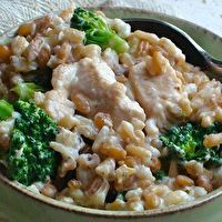 Creamy Chicken, Broccoli, and Grain One-Pot by iVillage
