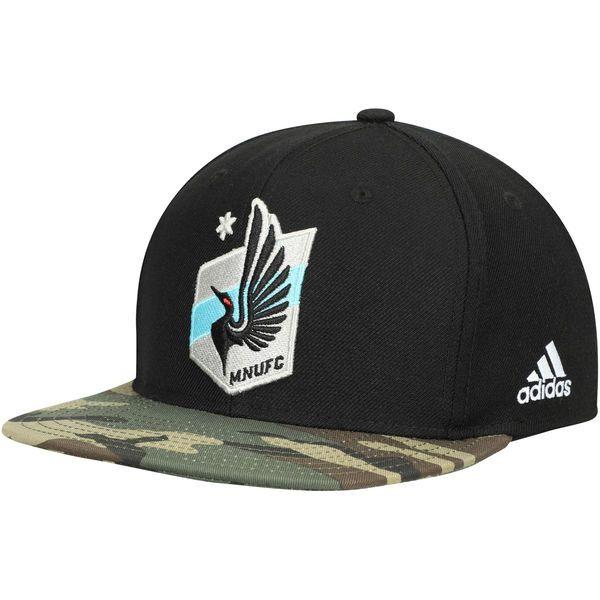 Men's Minnesota United FC adidas Black MLS Snapback Hat, Your Price: $25.99