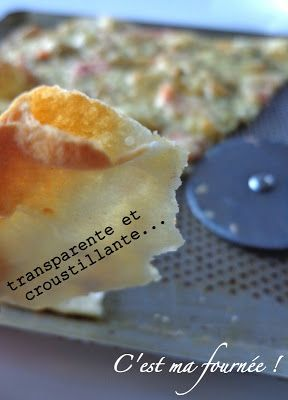 Autre recette pizza à tester Pâte fine