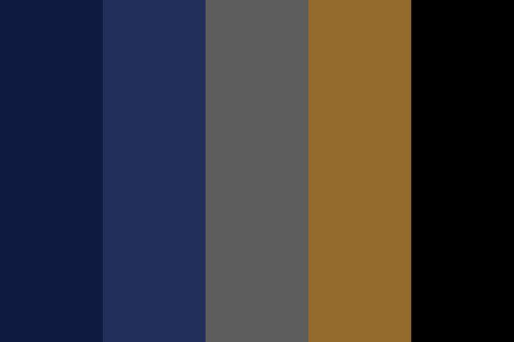 Ravenclaw Color Palette