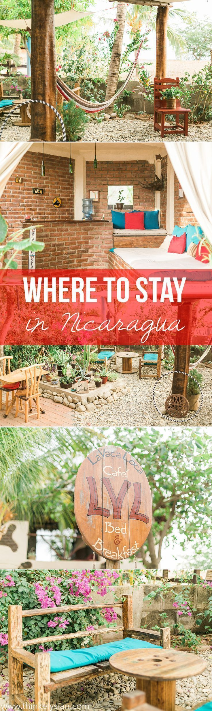 Where to stay in Nicaragua - Our favorite B&B near Popoyo Beach #Travel #Voyage #Nicaragua #BedandBreakfast #PopoyoBeach #Beach #Surf #Stay #Guide #Information