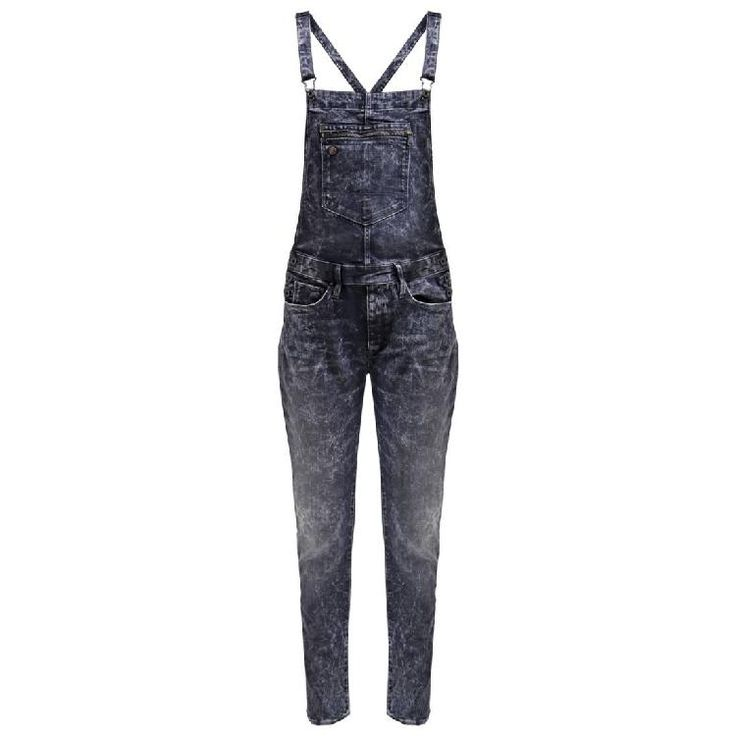 TYPE C RW OVERALL - Latzhose - dark aged by G-Star