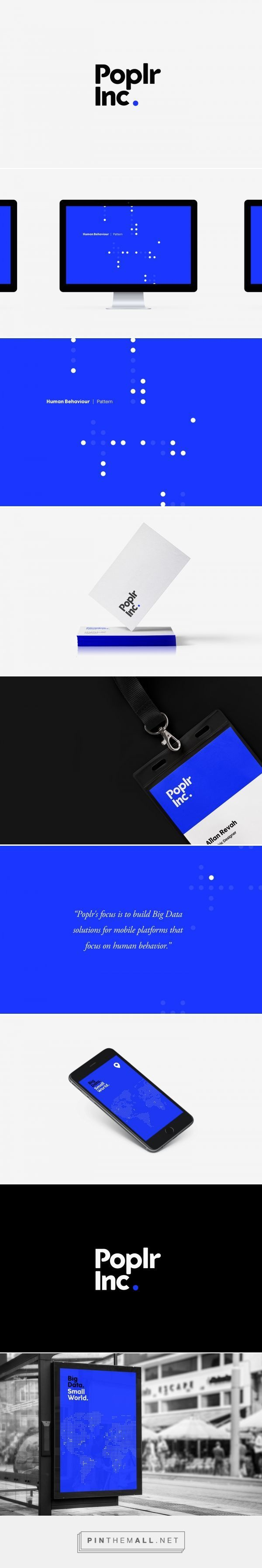 Poplr Inc. by Allan Revah | Fivestar Branding – Design and Branding Agency & Inspiration Gallery