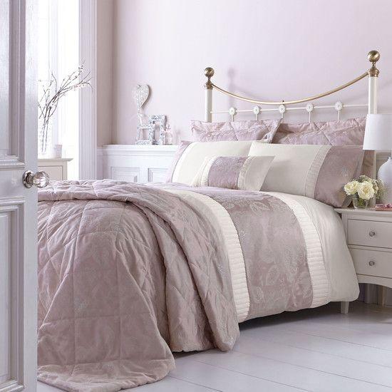Dusky Pink Bed Linen