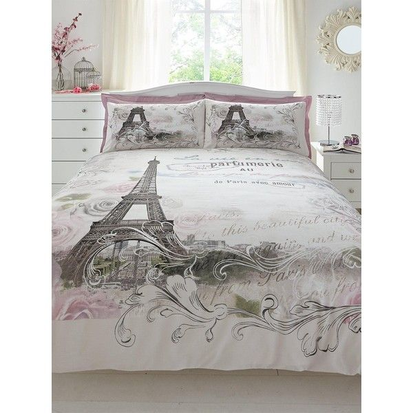 paris duvet cover set 28 liked on polyvore featuring home bed u0026 bath bedding duvet covers eiffel tower bedding king size duvet cover sets
