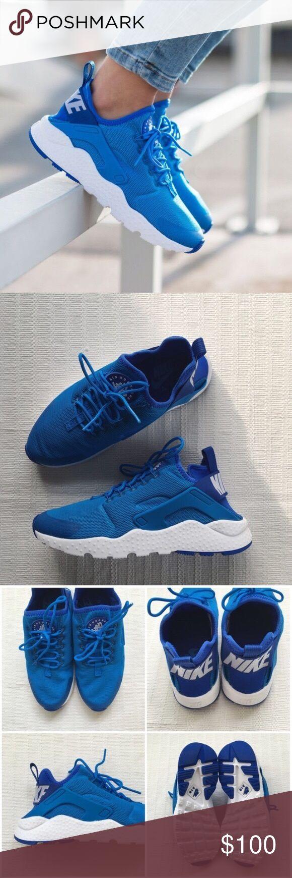 Nike Air Huarache Womens Blue