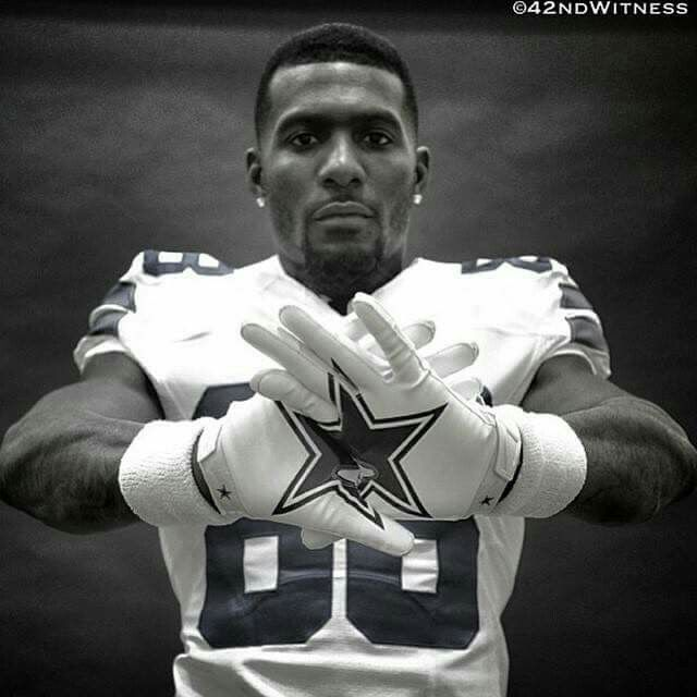 I pinned this because i want to play for the cowboys and be just like Dez Bryant.