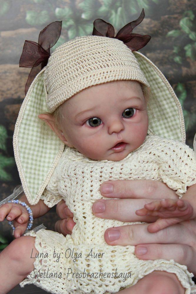 Luna newborn elf by Olga Auer ,prototype