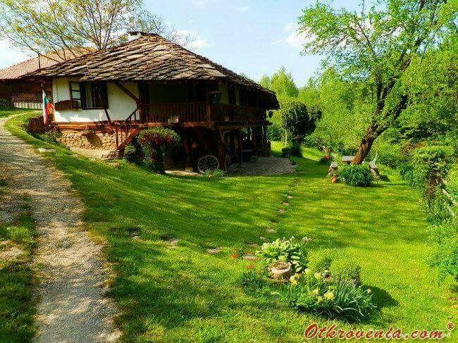 So pretty, Bulgarian traditional house