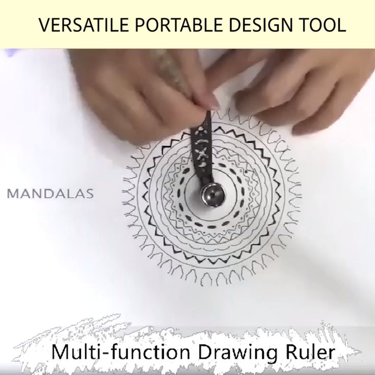 Limited Time Sale Offer – Versatile Portable Design Tool Multi-function Drawing Ruler