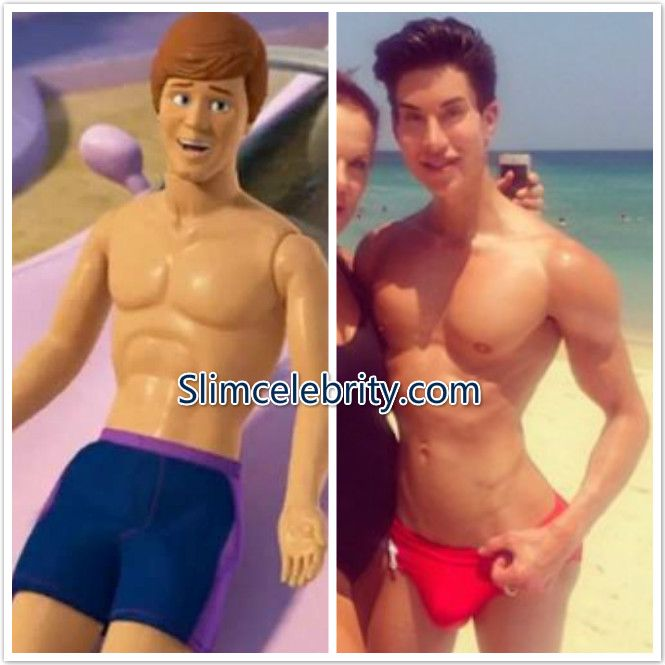 Human Ken Doll Justin Jedlica Plastic Surgery Before And