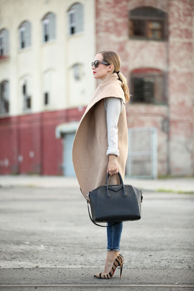 black structured bag attire
