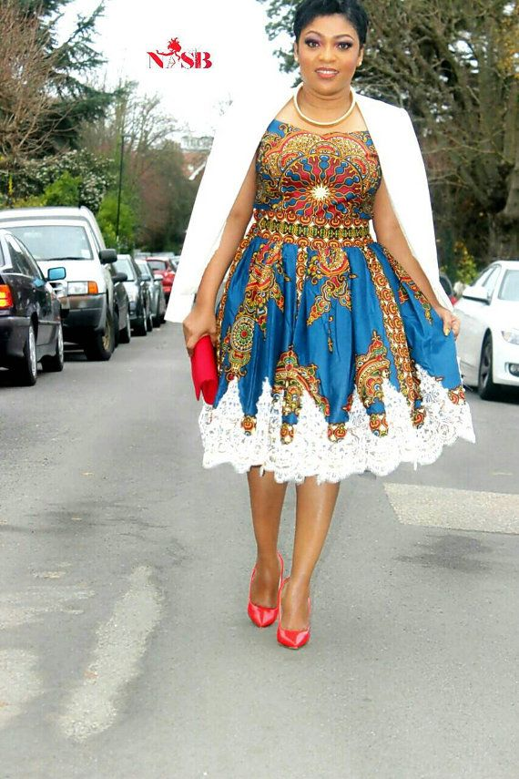 African clothing : NEW SHEKINAH dress handmade by Nasbstitches