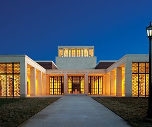 Bush Library Earns LEED Platinum