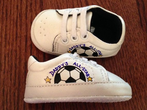 Custom Casual Baby Soccer/Football Leather Soft by ACRAFTYKING